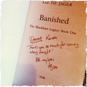 signed Banished