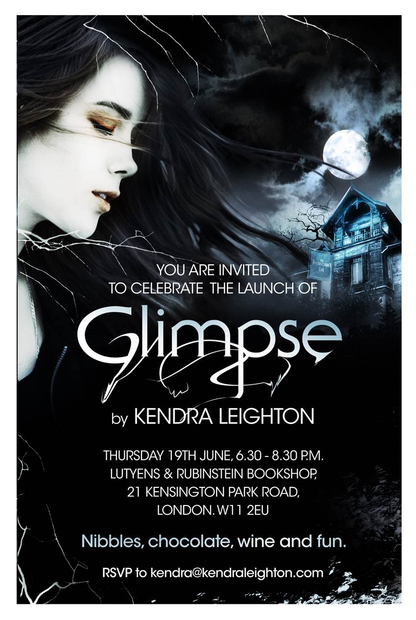 Glimpse launch invitation
