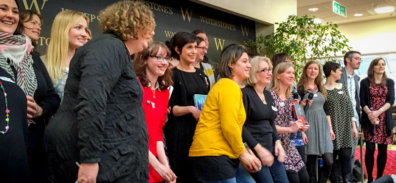 UKYA Extravaganza authors — and that's only half of us!