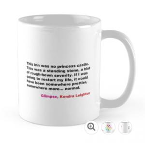 Glimpse quote mug