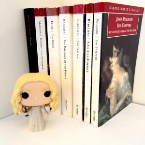 Gothic novels and Edith Cushing Funko Pop!